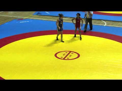 2012 Cadet Pan-American Championships: 46 kg Peru vs. Tia MacDonald (CAN)