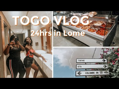 24hrs On The Streets Of Togo | Luxury Hotel | Places To Eat In Lome | Shopping In Togo | TOGO VLOG