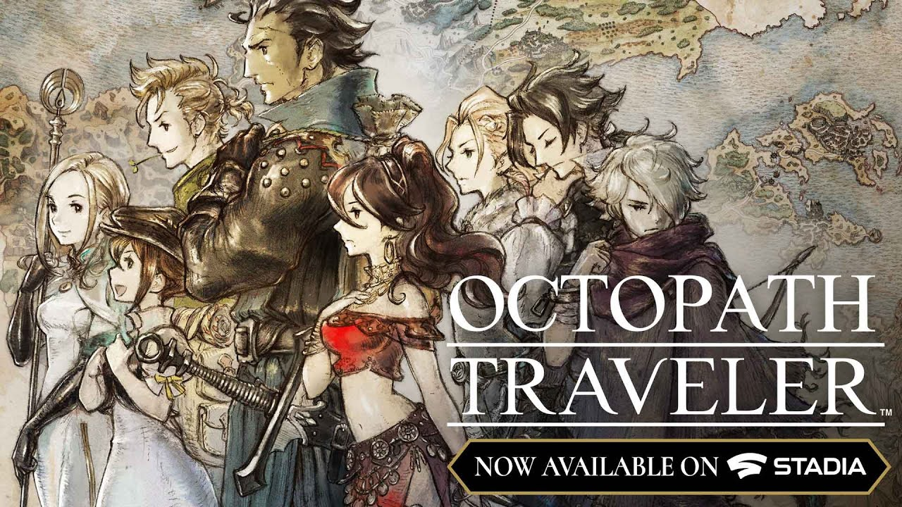 Octopath Traveler is now available on Stadia