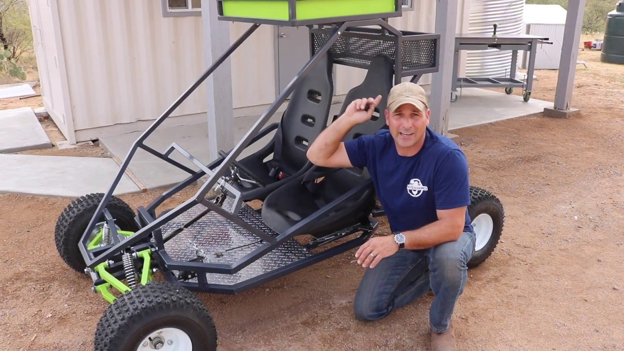 Build Your Own Off-Road Go-Kart Chassis - Extreme How To