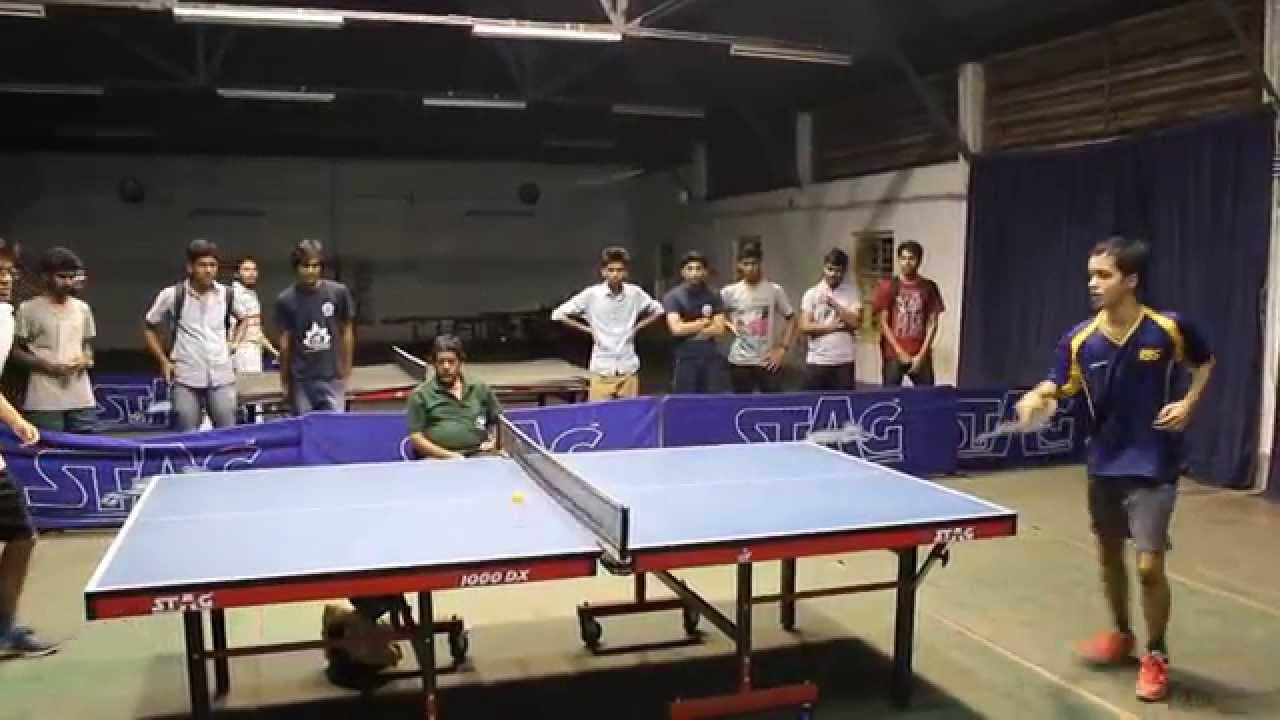 Interhall Table Tennis Lbs Wins A Point V S Llr Youtube