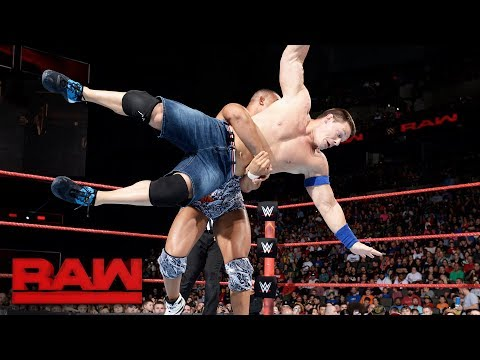 John Cena vs. Jason Jordan: Raw, Sept. 4, 2017