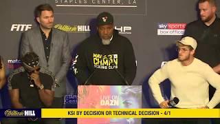 LIVE: Full KSI v Logan Paul 2 Press Conference | William Hill Boxing