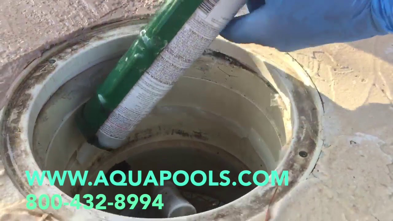 Fixing Swimming Pool Leaks At The Skimmer Youtube