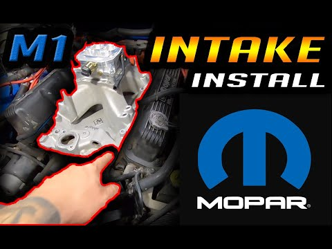 Mopar M1 Intake Install | Dodge | How To | DIY | Complete Guide