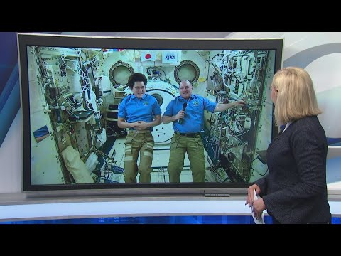 International Space Station Astronauts Answer Questions From Space