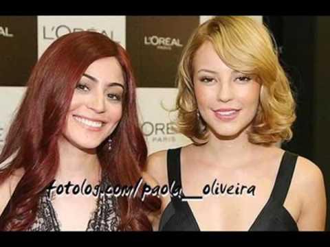 Amigas! Paola e Carol Castro