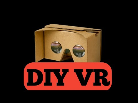 how to make vr headset cardboard