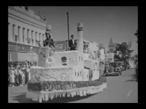 GAINESVILLE, FLORIDA GATOR HOMECOMING PARADE 1949