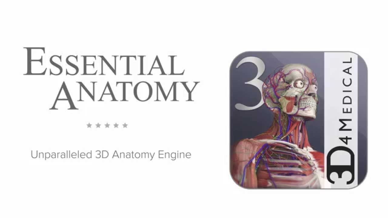 Introducing Essential Anatomy 3 For Android Youtube