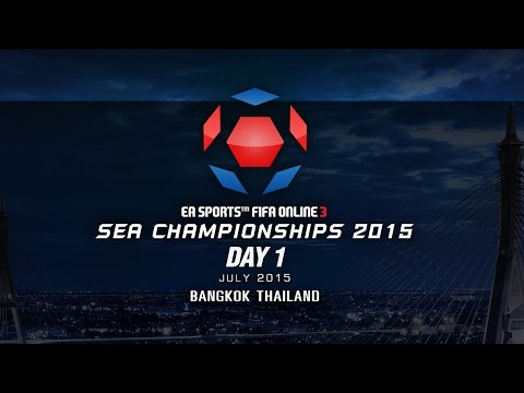 SEA Championships 2015 Thailand DAY 1