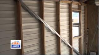 12'x24' Storage Garage By Keens Portable Buildings