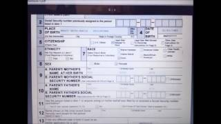 K1 Fiance Visa - How to fill up SSN form