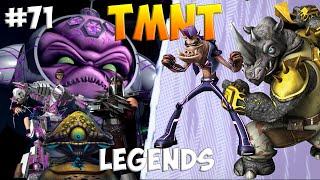 Черепашки-Ниндзя: Легенды. Прохождение #71 Rock and Bebop vs BOSS (TMNT Legends IOS Gameplay 2016