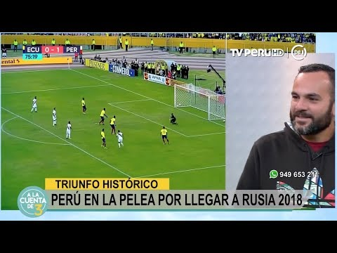 A la Cuenta de 3 (TV Perú) -Triunfo Histórico Peruano  - 06/09/2017