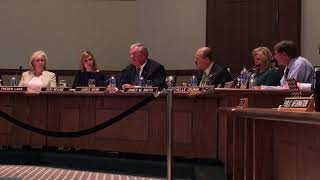 James Webb attempts to explain athletic cuts, will not allow any public comment at all