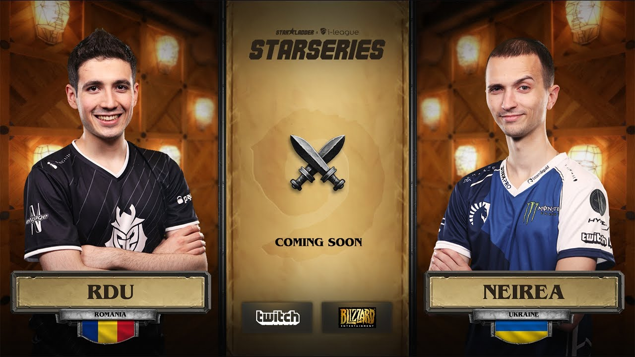 [EN] RDU vs Neirea | SL i-League Hearthstone StarSeries Season 3 (11.06.2017)