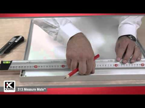 Kapro versatile 313 Measure Mate ruler, level, and straightedge