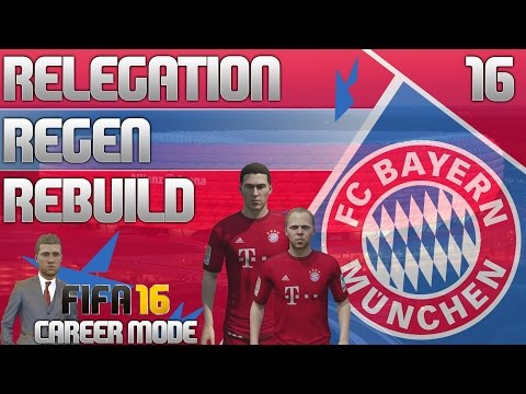 FIFA 16 Bayern Munich Career Mode - RRR - E16