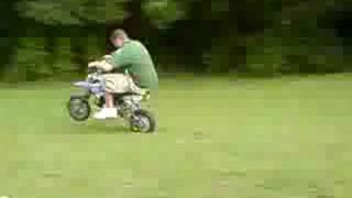 X-Sport 125 Pit Bike Blast Around