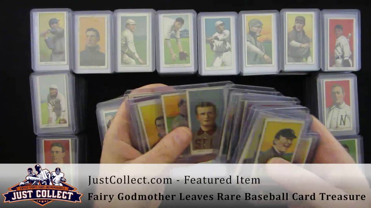 Fairy Godmother Leaves Rare Baseball Card Treasure T206 Collection W Eddie Plank