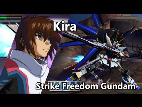 Gundam Vs. Gundam NEXT PLUS: Strike Freedom Gundam - Arcade Mission F