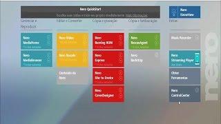 Como gravar vídeos com menu DVD no Nero Platinium 2017 - DICA