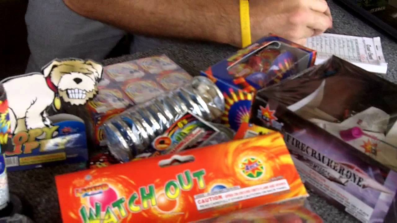 Buying Fireworks at World Class Fireworks with Reagan and ...