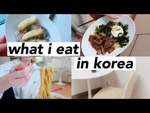 What I Eat Living In Korea! 🇰🇷🍜🥗🥩