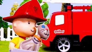 Caillou et le Camion de Pompier | Caillou en Français