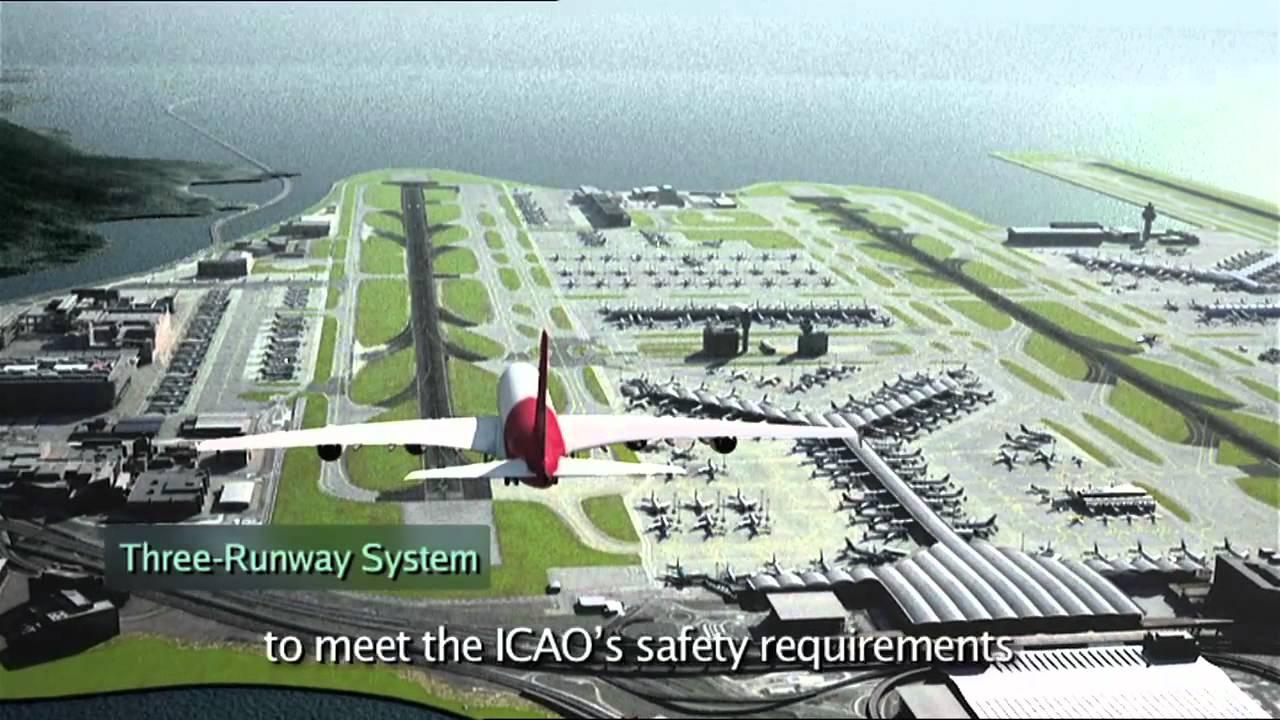 Hong Kong International Airport Master Plan 2030