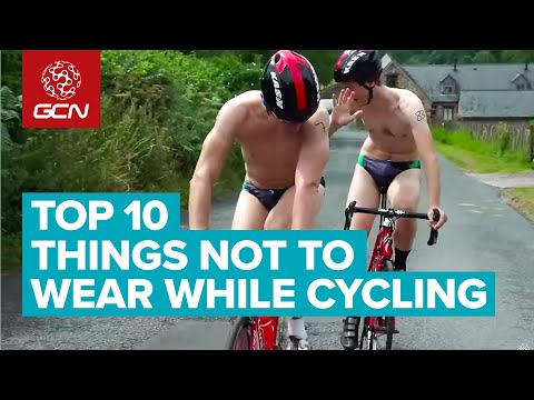 Top 10 Things Not To Wear While Cycling