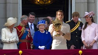 Andy Murray the King & The Queen Elizabeth - Wimbledon 2016 pimp my tennis