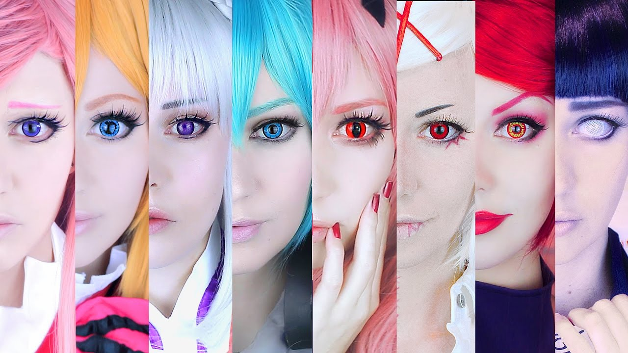 Review What Circle Lenses For Cosplay Part 1 Youtube