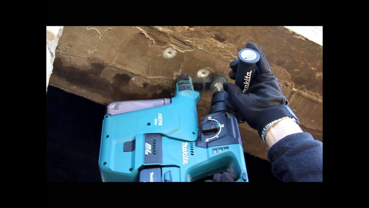 Аккумуляторный перфоратор Makita DHR241RFE ОБЗОР полная версия .