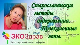 Старославянские методы оздоровления. Проекционные зоны.