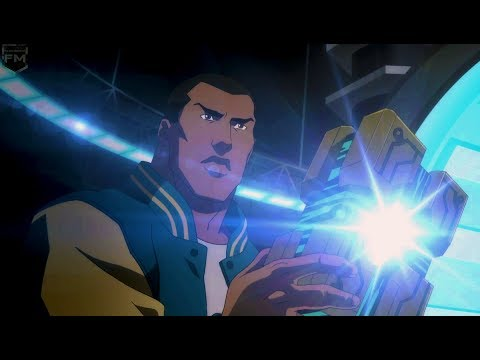Victor Stone becomes Cyborg | Justice League: War