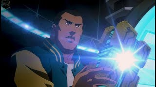 Victor Stone becomes Cyborg   Justice League: War