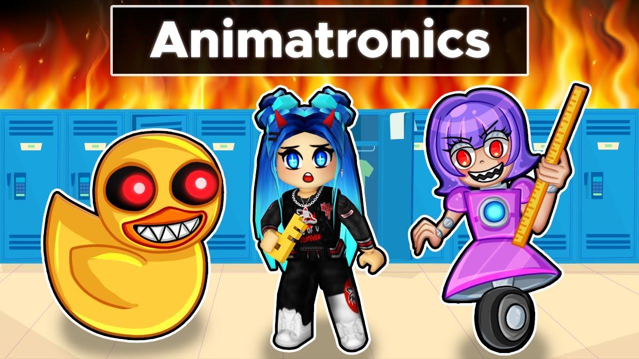Download Escape the ANIMATRONICS SCHOOL in Roblox!