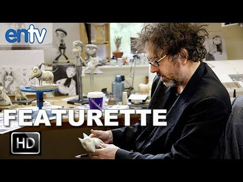 "Frankenweenie ""Behind The Scenes"" Featurette [HD]: On-Set With Tim Burton & Crew"