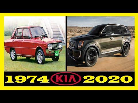 Kia - Evolution (1974 - 2020) | The Evolution Of Kia