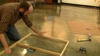 How To Cradle A Wood Panel Part 2 Hd!