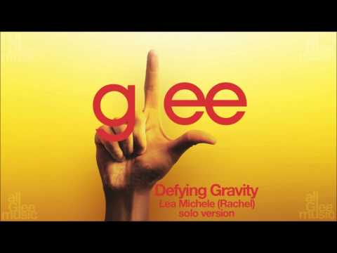 Defying Gravity Rachel Solo Version  Glee HD FULL STUDIO