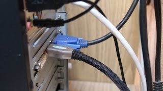 Как и чем подключить телевизор к компьютеру(Видео-инструкция по типам и способам подключения современных телевизоров к компьютерам. Как подключить..., 2014-03-18T18:07:12.000Z)