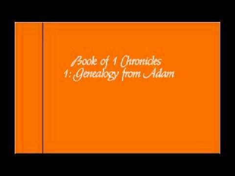 1 Chronicles 1: Genealogy from Adam