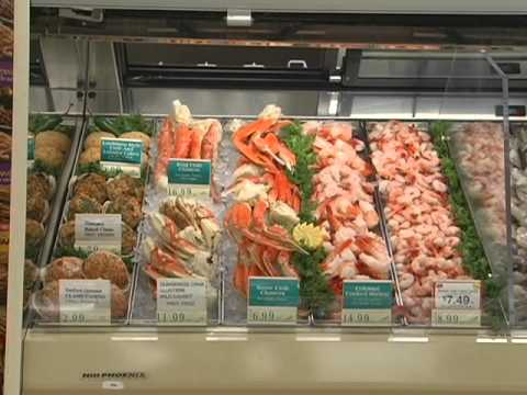 Seafood Display Training