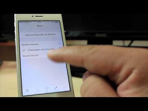 Bytafont 2 |Cambia tu tipo de letra en iOS 7 iPhone, iPod, iPad