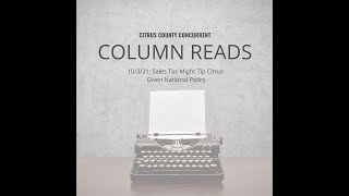 Column Read | October 3, 2021