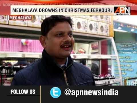 Christmas markets abuzz in Meghalaya capital
