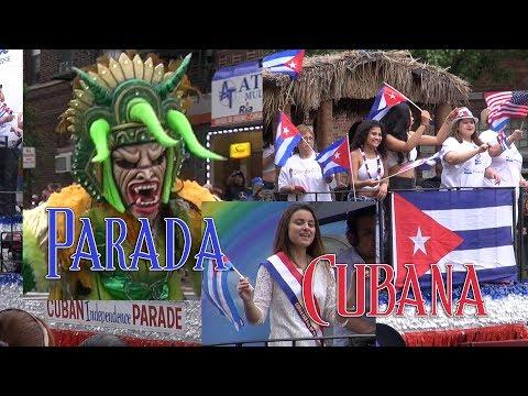 Gran Parada Cubana 2017 . New Jersey- Bergenline ave / Parada completa